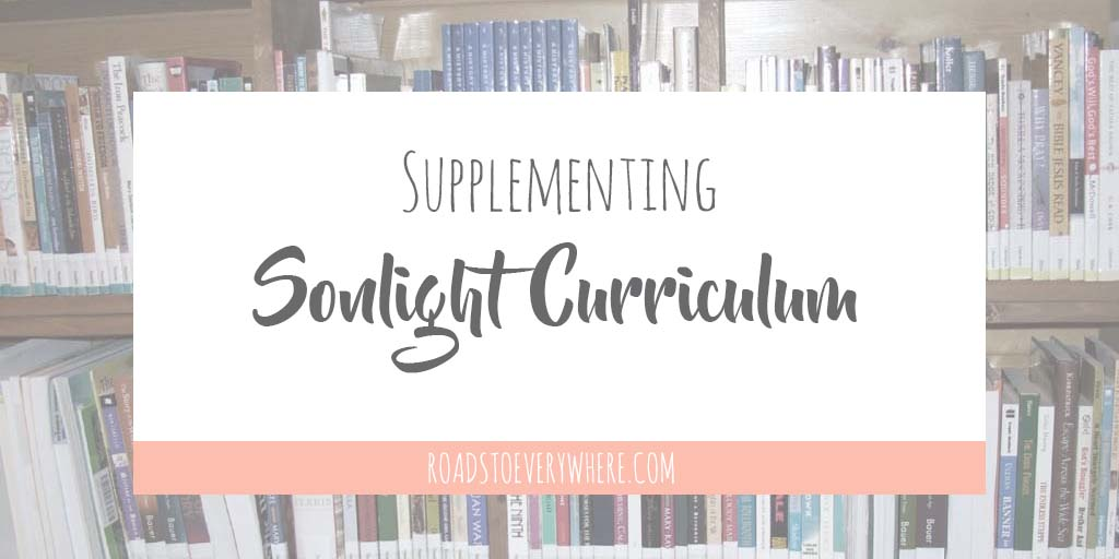 Supplementing Sonlight Curriculum