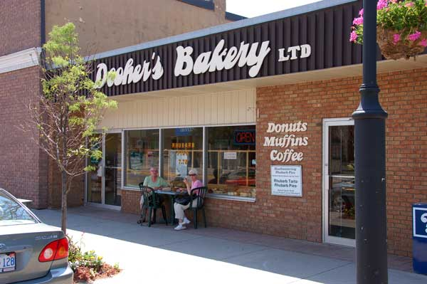 Dooher's Bakery in Campbellford, Ontario