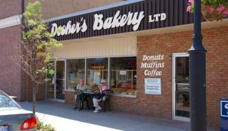 Doughnuts are hot at Dooher's