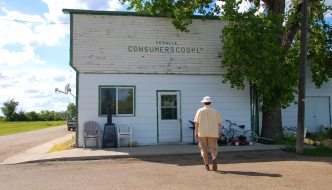 Old general stores in Alberta, Canada