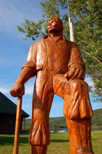 Joe Muffraw, the lumberjack from Mattawa, Ontario