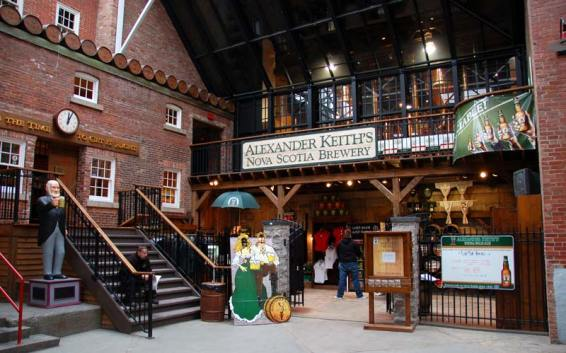 Alexander Keith's brewery foyer