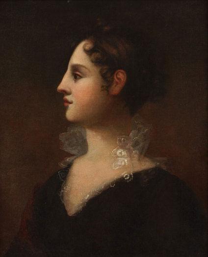 portrait of Theodosia Burr