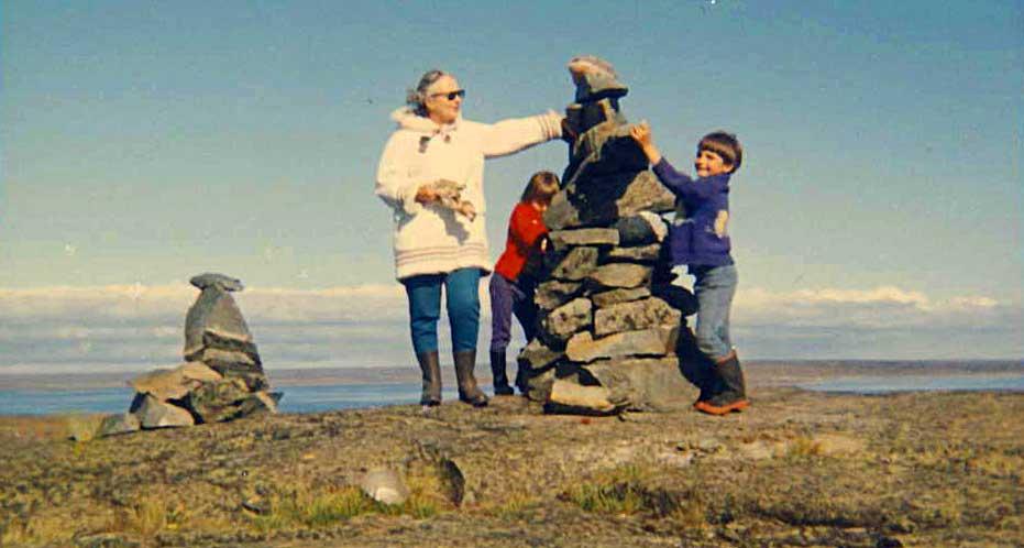 Rankin Inlet inookshook 1968