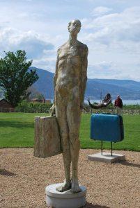 sculpture – Frank the Baggage Handler