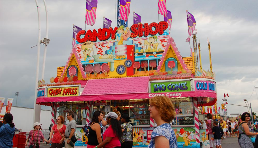 Candy Shop at CNE 2010