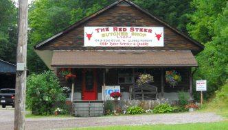 Red Steer butcher