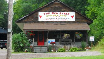 Red Steer butcher