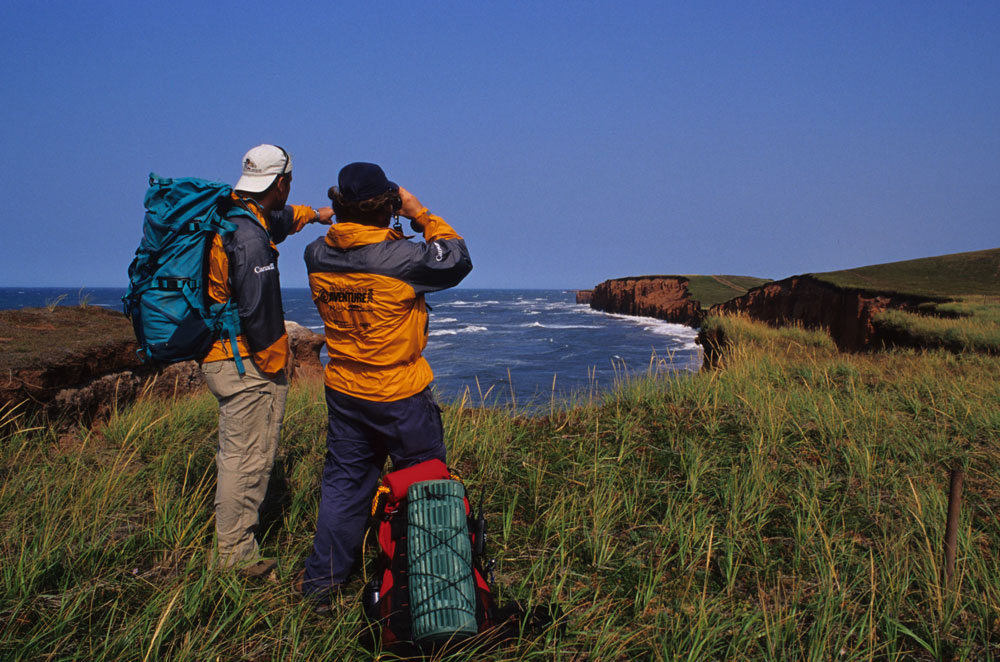 Hiking on the Magdalen Islands