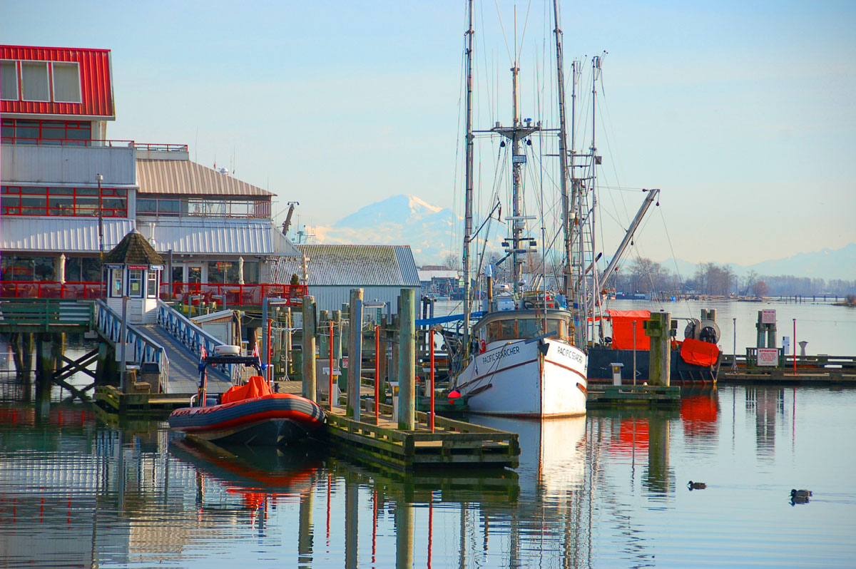 Steveston Fishing Village Canadian food