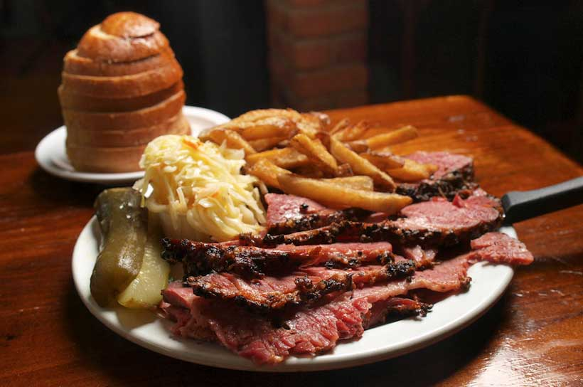 smoked meat Canadian food