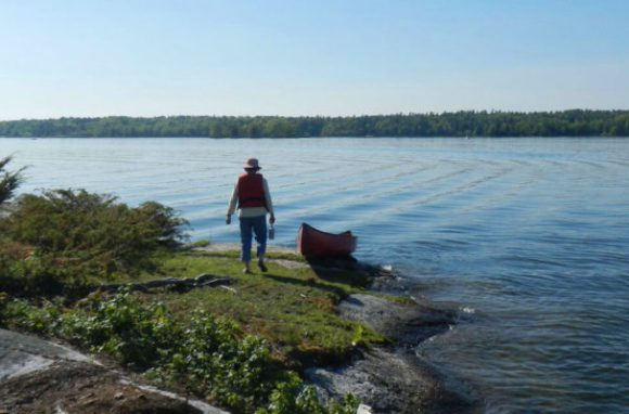 canoe in Kingston, Ontario