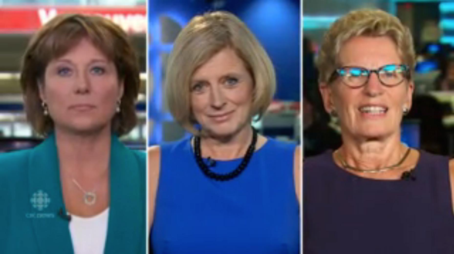 Canada's female premiers