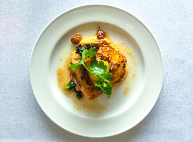 Shawarma-spiced Humboldt squid