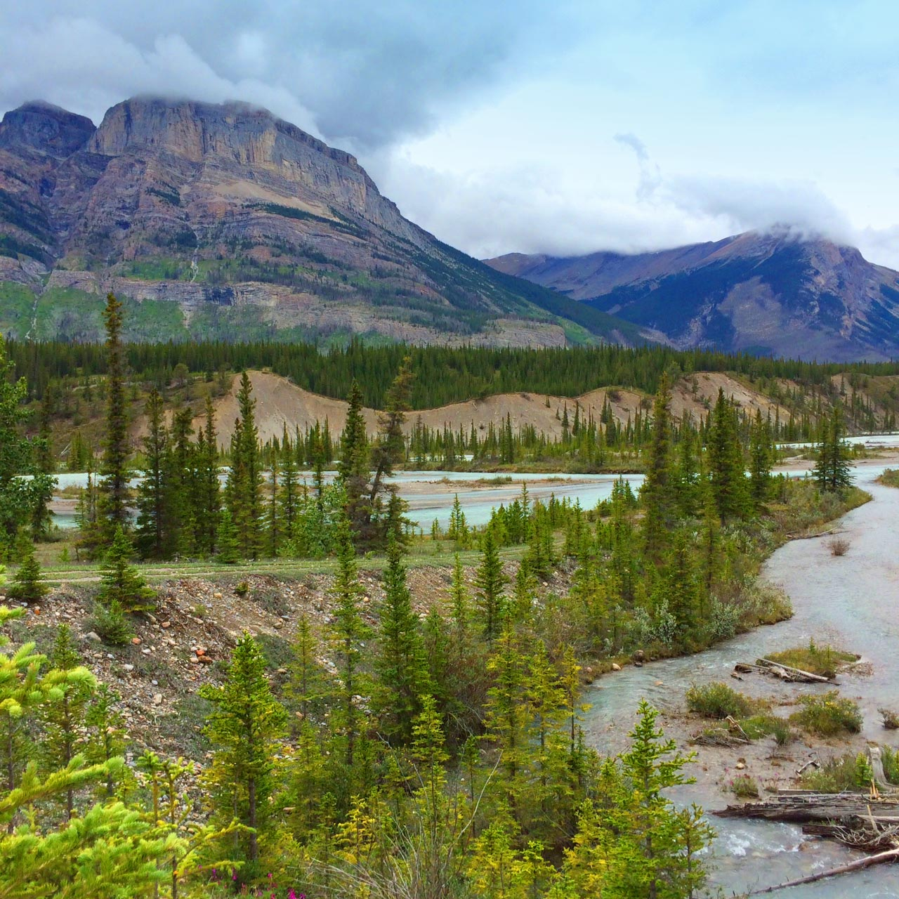 Saskatchewan River Crossing in Alberta