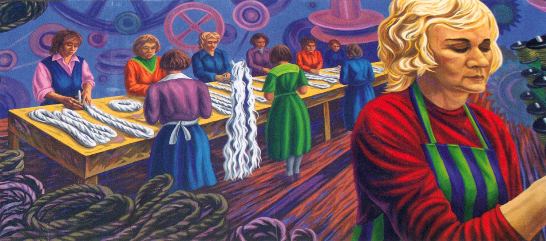 mural in Welland, Ontario