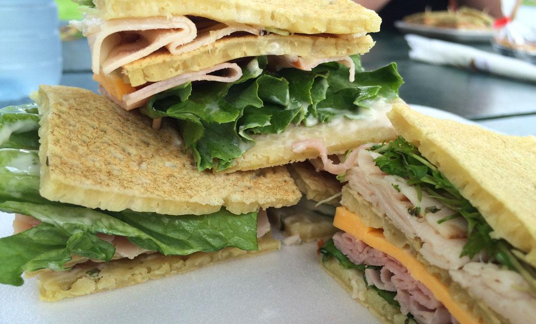 ploye sandwich