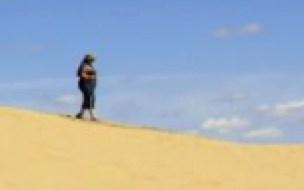 Hiking the Great Sand Hills of Saskatchewan
