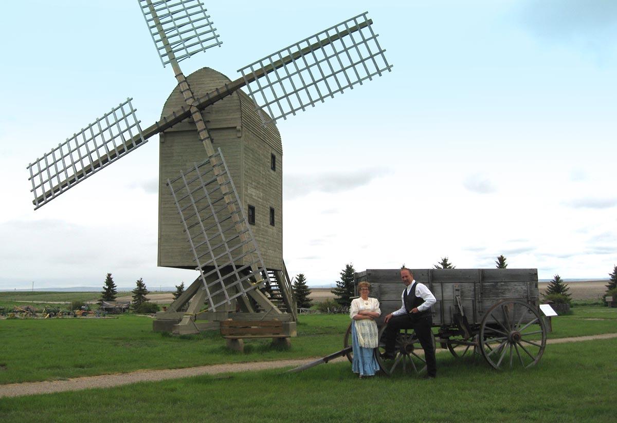 Etzikom windmill museum