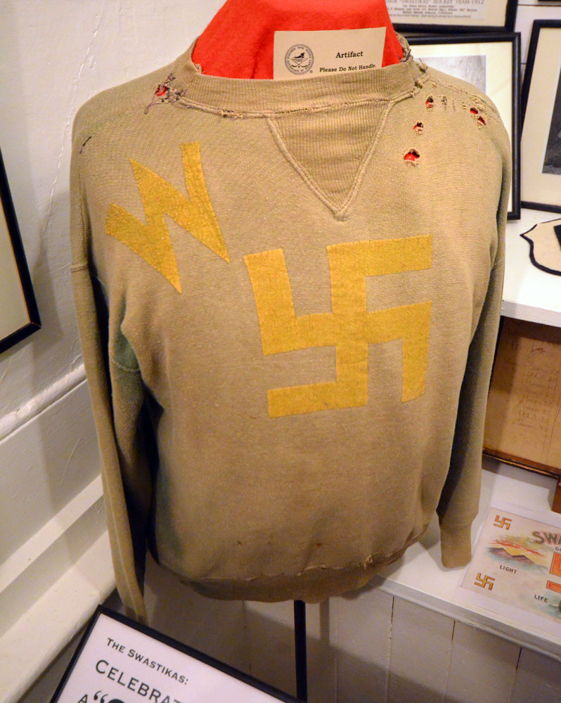 Windsor Swastikas hockey sweater
