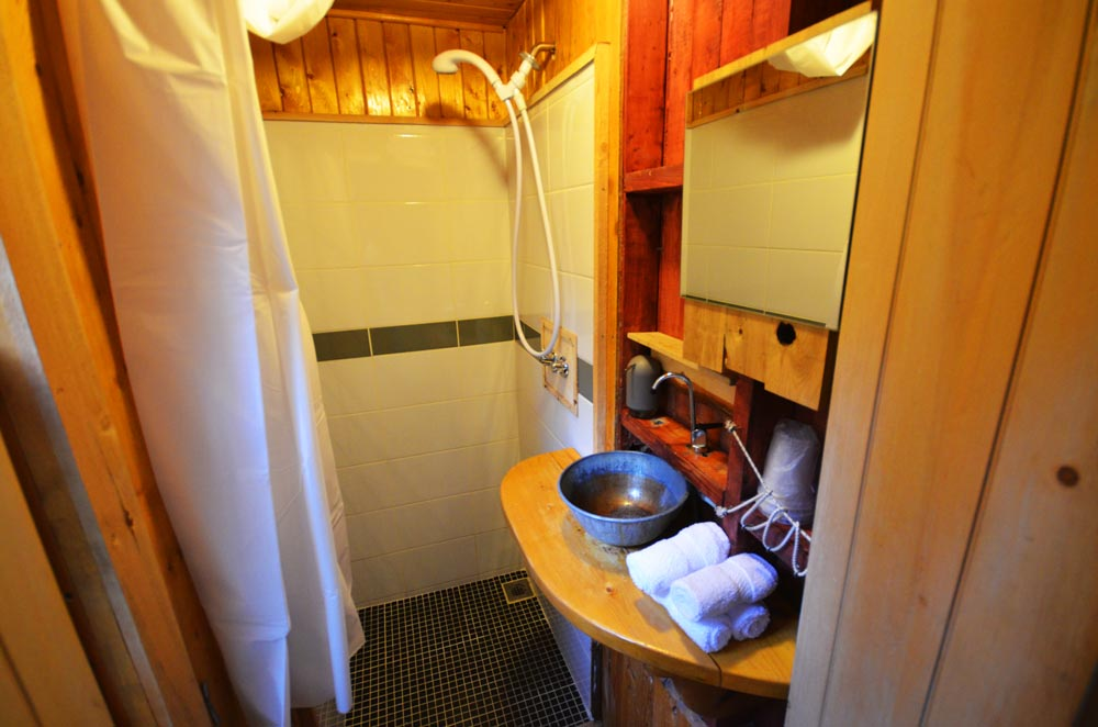Canopée Lit treehouse bathroom