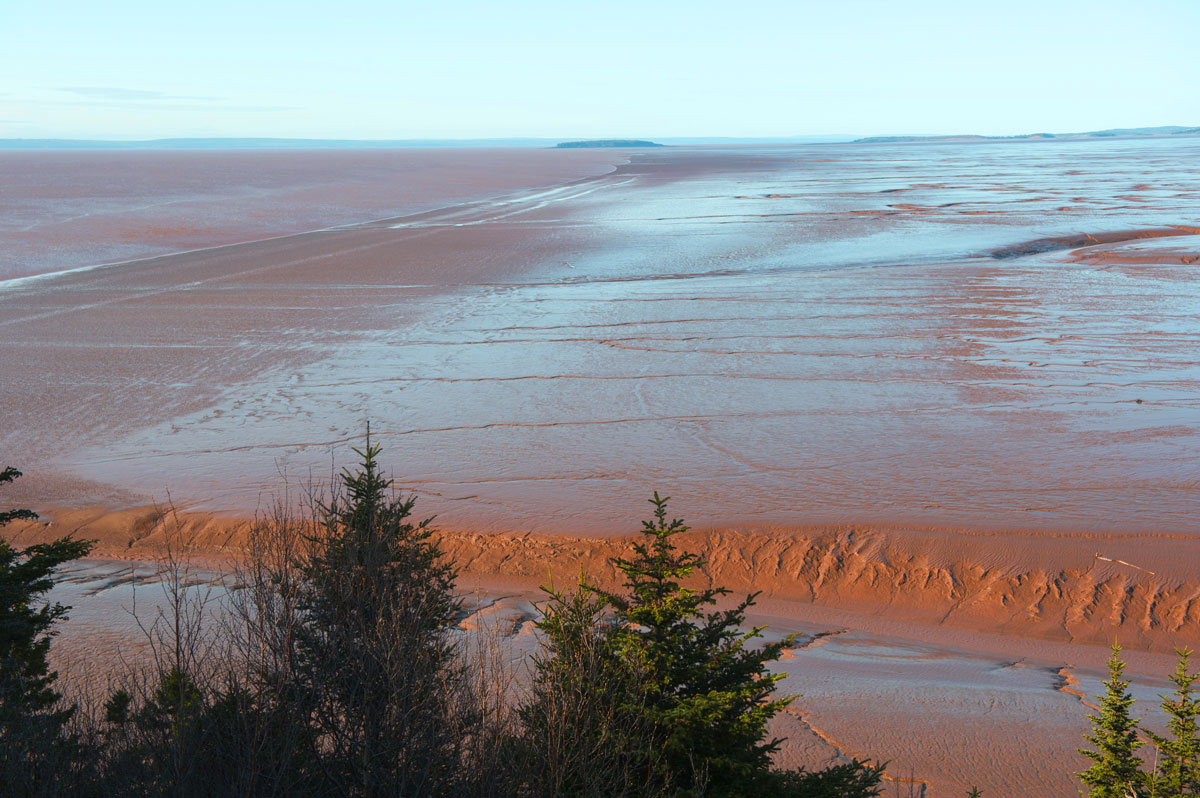 Bay of Fundy tides, Canada