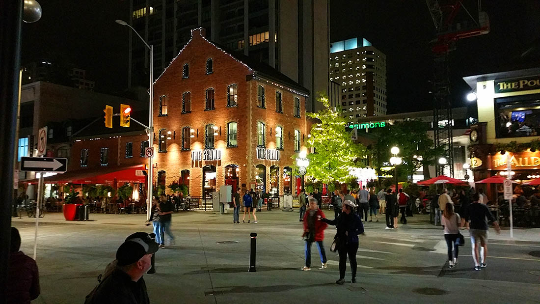 Ottawa Byward Market at night