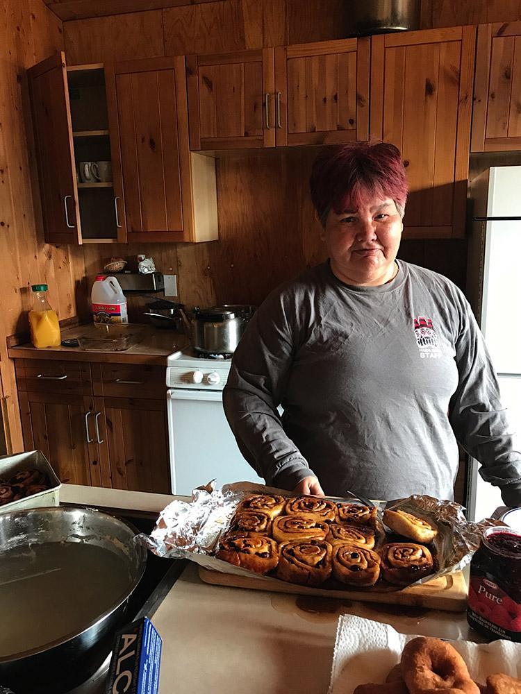 Haida Gwaii Watchmen Mary Russ cinnamon buns