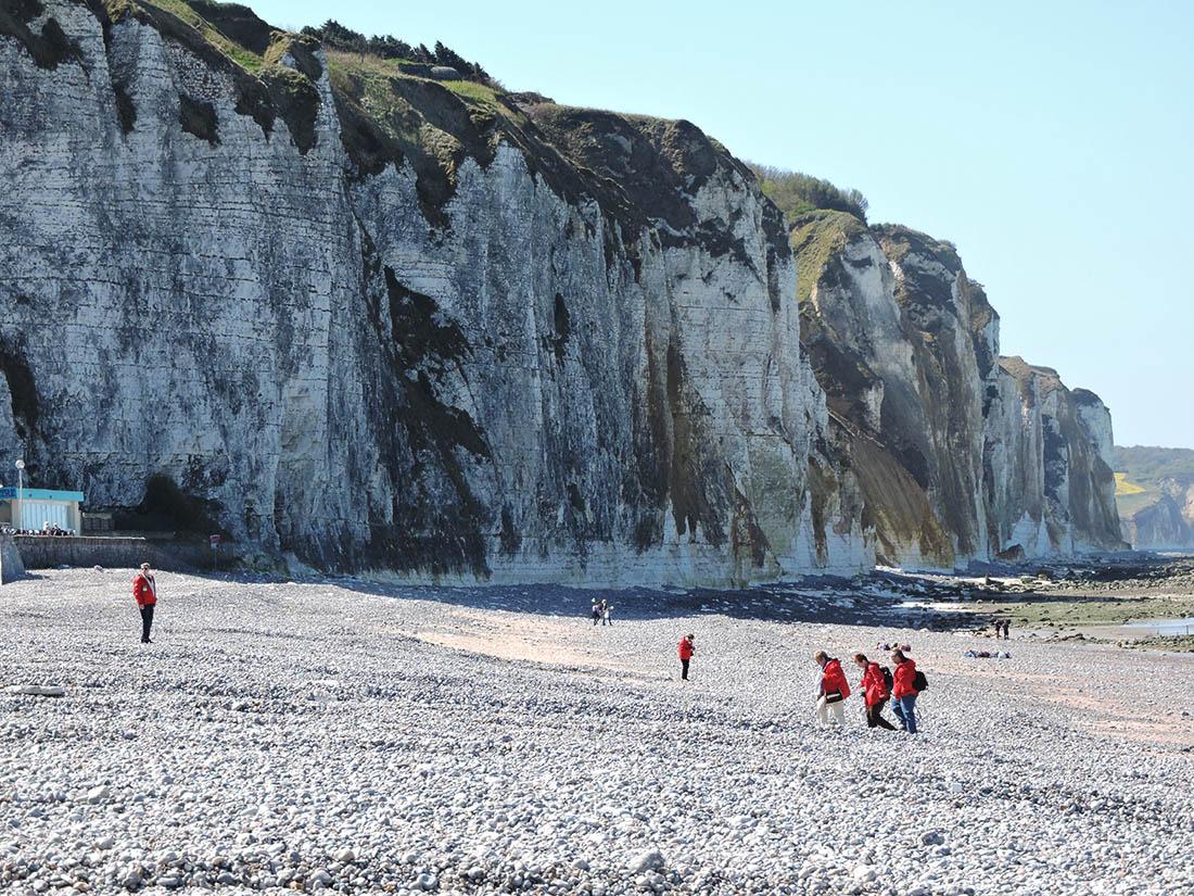 cliffs at Dieppe