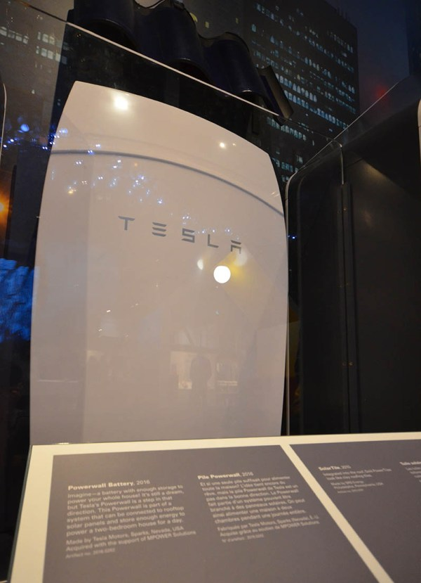 Canada Science and Technology Museum TESLA battery