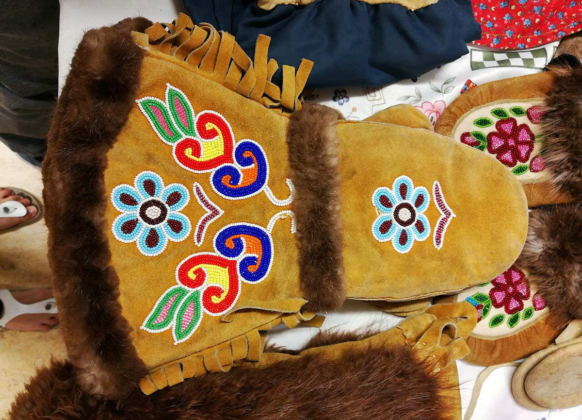 Churchill Northern Studies Centre - Caroline Bead Work