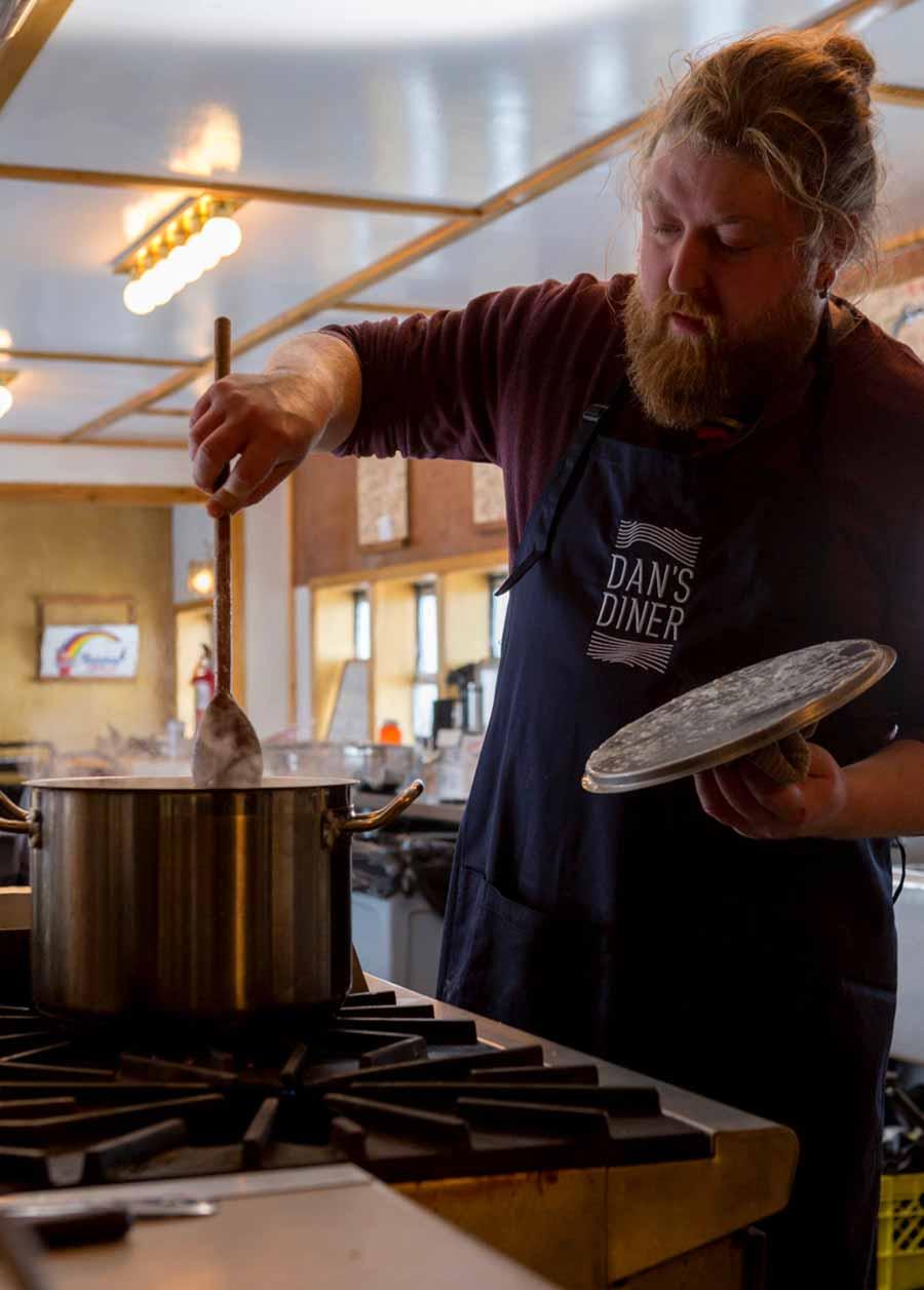 Chef Jared Fossen