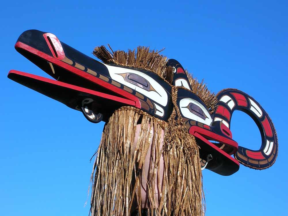 Canadian indigenous artist Carey Newman