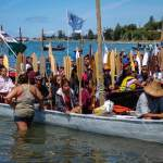 tribal canoe journey Paddle-to-Lummi