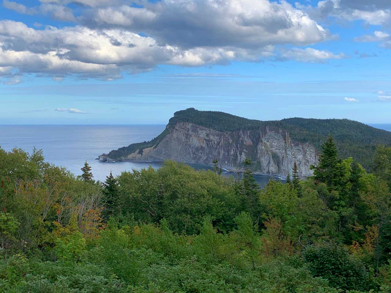Forillon National Park, Quebec. Photo by Carol Patterson.