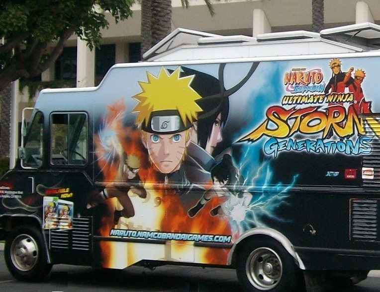 "NAMCO'S ""STORM"" food truck"