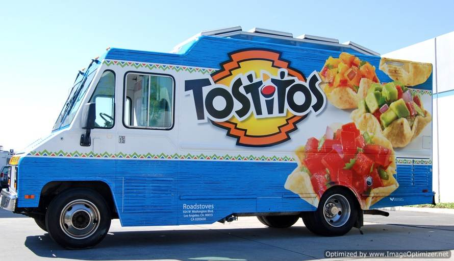 "Frito Lay's ""Tostitos Cinco Celebration"" Food Truck"