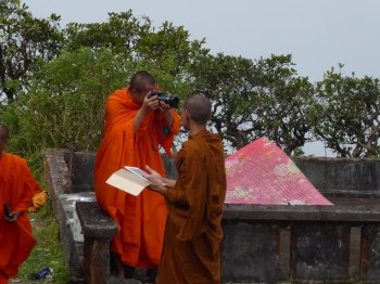 Monks Embracing Technology
