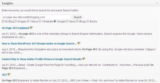 interlink blog posts
