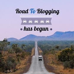 road to blogging