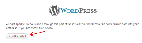 Install WordPress Locally
