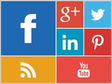 Metro Style Social WordPress Widget