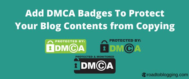Add DMCA Badge to WordPress