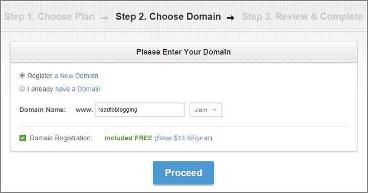 Siteground free domain name