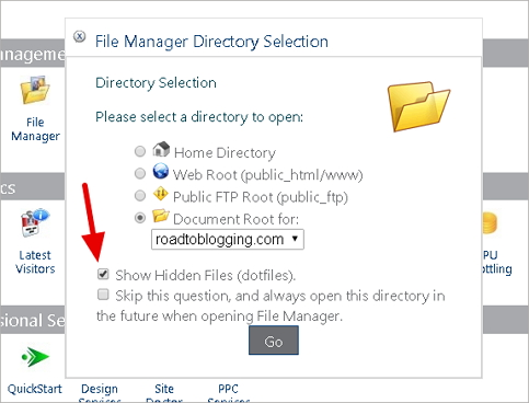 How to Find or Create WordPress .htaccess file in cPanel