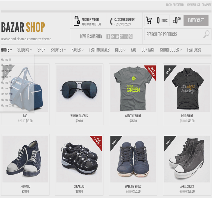 Bazarshop WordPress Theme
