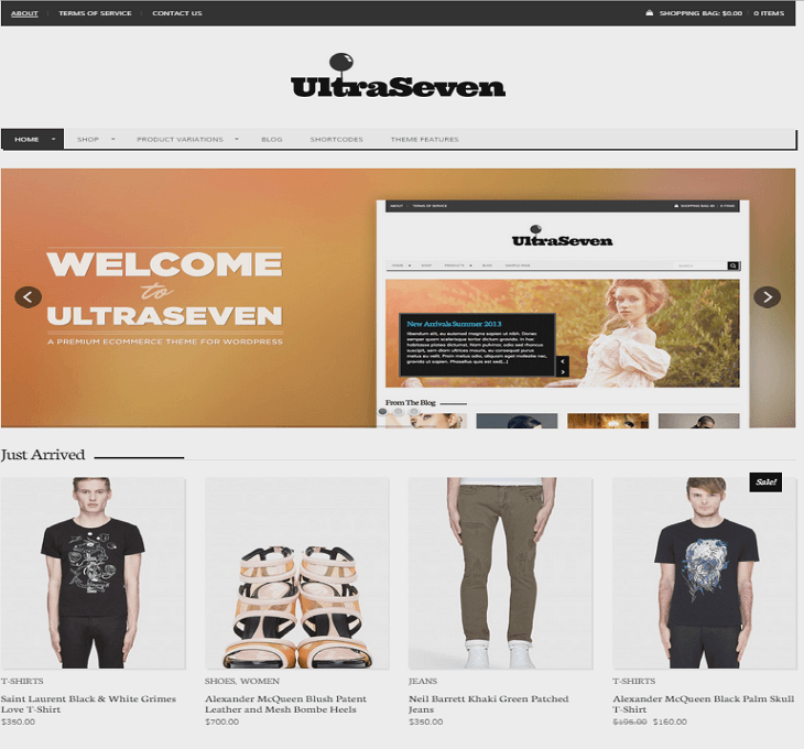 UltraSeven WordPress Blog
