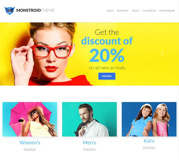 Monstroid WordPress Themes