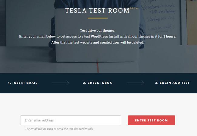 Tesla Test Room