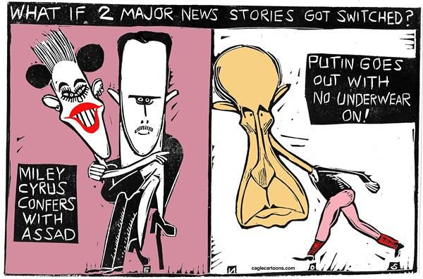 Randall Enos / Cagle Cartoons